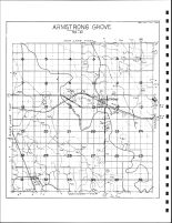Armstrong Grove Township Drainage Map, Emmet County 1980