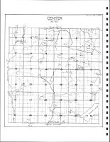 Center Township Drainage Map, Emmet County 1980