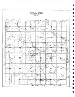 Denmark Township Drainage Map, Emmet County 1980