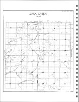 Jack Creek Township Drainage Map, Emmet County 1980