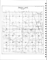 Swan Lake Township Drainage Map, Emmet County 1980
