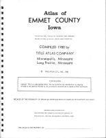 Title Page, Emmet County 1980