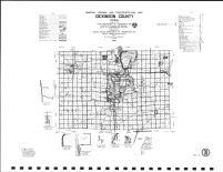 Dickinson County Highway Map, Emmet County 1990