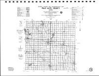 Palo Alto County Highway Map, Emmet County 1990