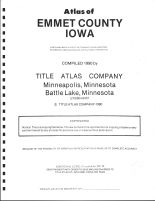 Title Page, Emmet County 1990