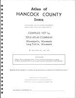 Title Page, Hancock County 1977