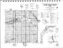 Cerro Gordo County Highway Map, Hancock County 1984