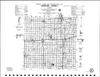 Hancock County Highway Map, Hancock County 1984