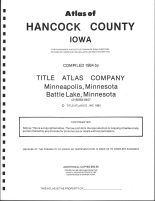 Title Page, Hancock County 1984
