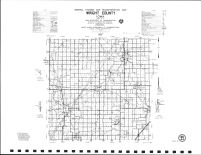 Wright County Highway Map, Hancock County 1984
