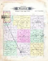 Weaver Township, Gilmore City, Unique P.O., Pioneer, Humboldt County 1896