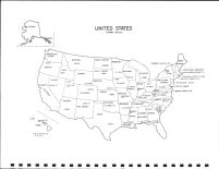 United States Map, Kossuth County 1981