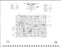 Emmet County Highway Map, Kossuth County 1990