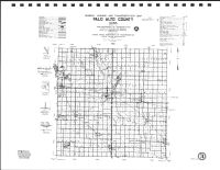 Palo Alto County Highway Map, Kossuth County 1990