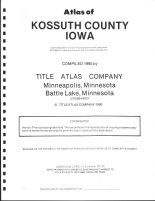 Title Page, Kossuth County 1990