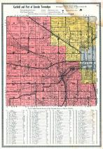Garfield and Lincoln Townships, Mahaska County 1920