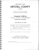 Title Page, Mitchell County 1968