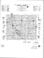 Mitchell County Highway Map, Mitchell County 1977
