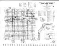 Cerro Gordo County Highway Map, Mitchell County 1987