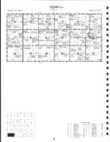 Code 3 - Cedar Township - West, Mitchell County 1987
