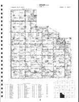 Code 4 - Cedar Township - East, Mitchell County 1987