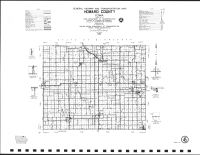 Howard County Highway Map, Mitchell County 1987