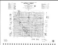 Mitchell County Highway Map, Mitchell County 1987