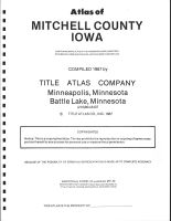 Title Page, Mitchell County 1987