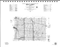 Worth County Highway Map, Mitchell County 1987