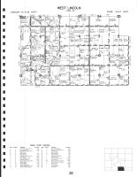Code 20 - West Lincoln Township, Mitchell County 1999