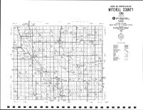 Mitchell County Highway Map, Mitchell County 1999