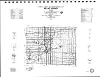 Adams County Highway Map, Montgomery County 1989