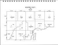 Muscatine County Code Map, Muscatine County 1982