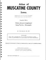 Title Page, Muscatine County 1982