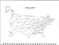 United States Map, Muscatine County 1982