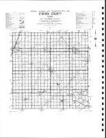 O'Brien County Highway Map, O'Brien County 1976