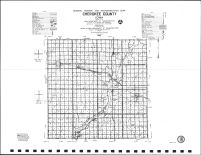 Cherokee County Highway Map, O'Brien County 1986
