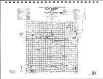 Clay County Highway Map, O'Brien County 1986