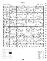 Code 13 - Omega Township, O'Brien County 1986