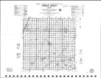 O'Brien County Highway Map, O'Brien County 1986