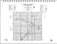 Cherokee County Highway Map, Plymouth County 1988
