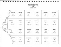 Plymouth County Code Map, Plymouth County 1988