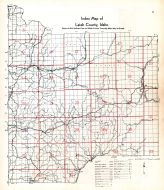 Latah County Index Map, Latah County 1937