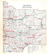 Latah County Precinct Map, Latah County 1937