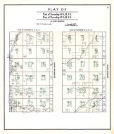 Townships 41 and 42 N. Range 1 E., Latah County 1937
