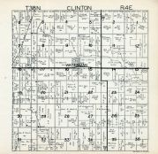 Clinton Township, Waterman, DeKalb County 1940