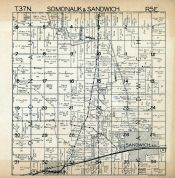 Somonauk and Sandwich Township, DeKalb County 1940