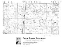 Arcola Township - North, Galton, Douglas County 1950