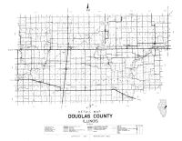 Douglas County Detail Map, Douglas County 1950