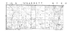 Garrett Township - South, Douglas County 1950
